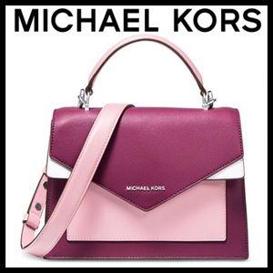 MICHAEL Michael Kors Ludlow Leather Satchel